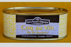 Photo représentant la boîte de coq au vin