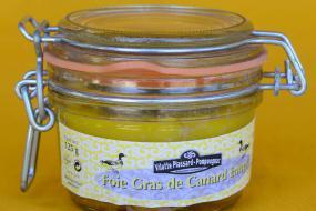 Photo représentant un foie gras entier de canard 125g