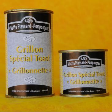 Photo représentant les boîtes de grillon spécial toast